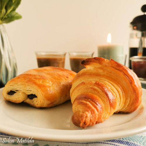 Paris, Pain au Chocolat, Croissant