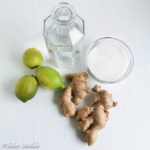 Ingwer-Zitronen-Likör