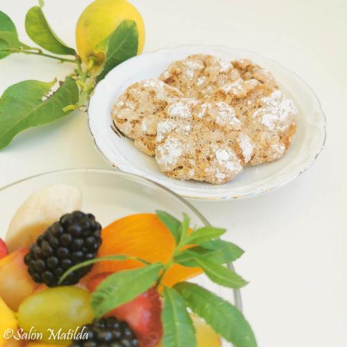 Italienischer Obstsalat, Macedonia di frutta, Biscotti