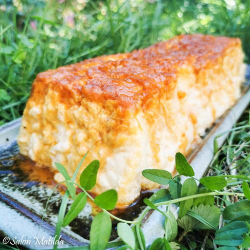 Gâteau de riz, Reiskuchen, Karamell