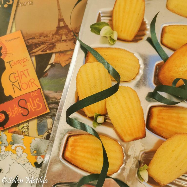 Madeleines, Bergamotte, Geschmackserlebnis