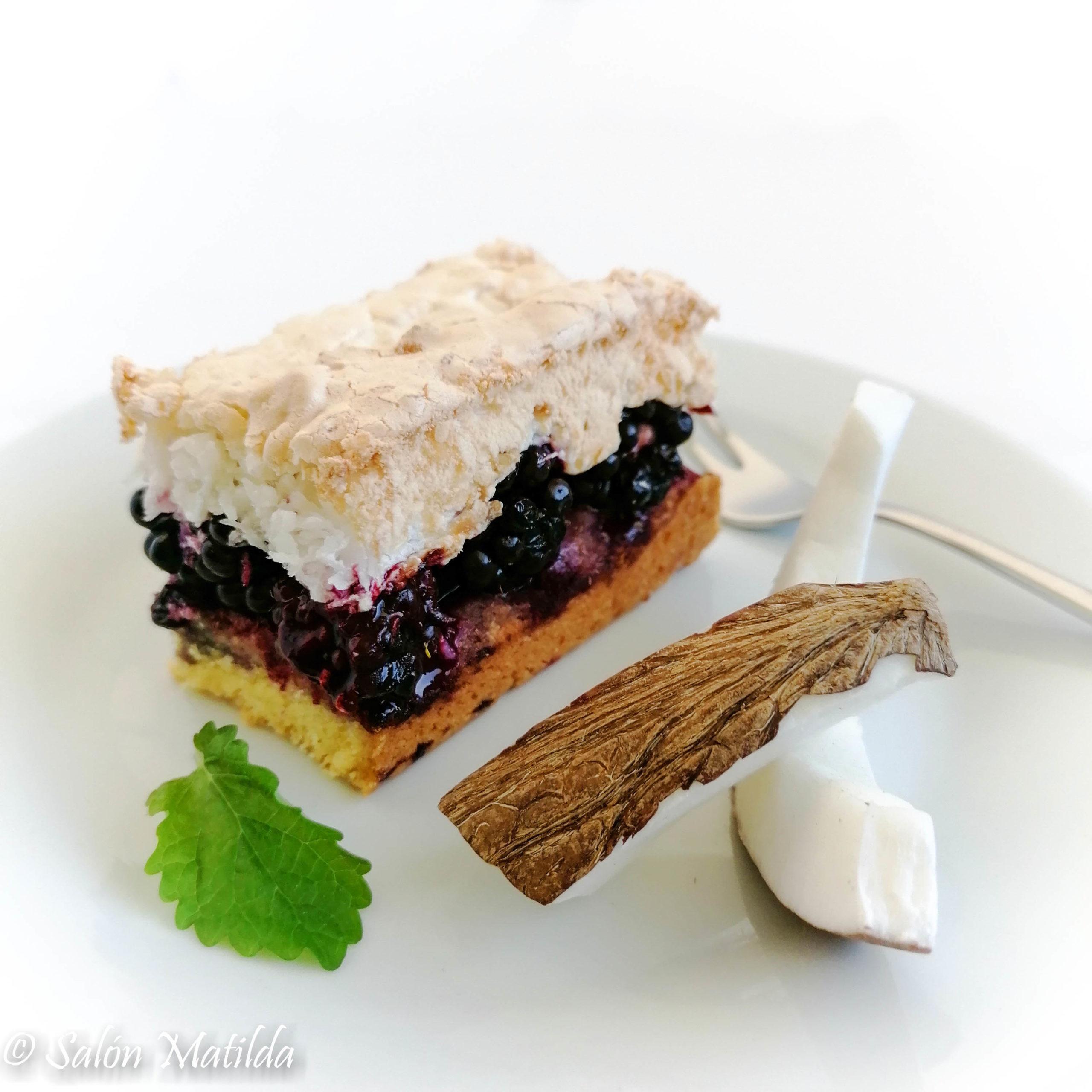 Louise Cake, Brombeeren, Kokos